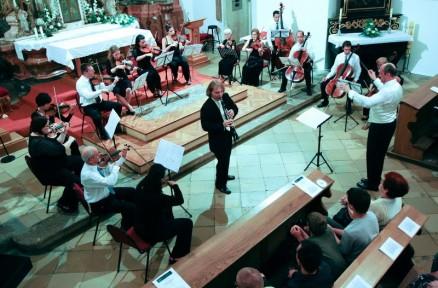 With Franjo Krezma Chamber Orchestra, Osijek 2009