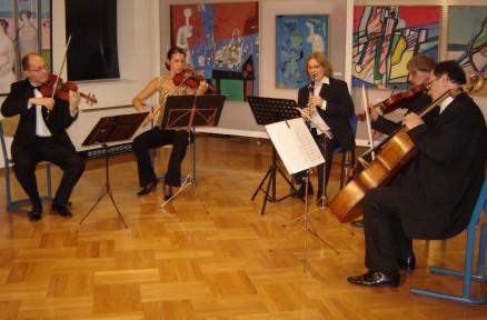 With Sebastian String Quartet, Samobor 2006