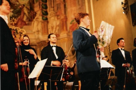With Symphony Orchestra Windstrings, Samobor 1995