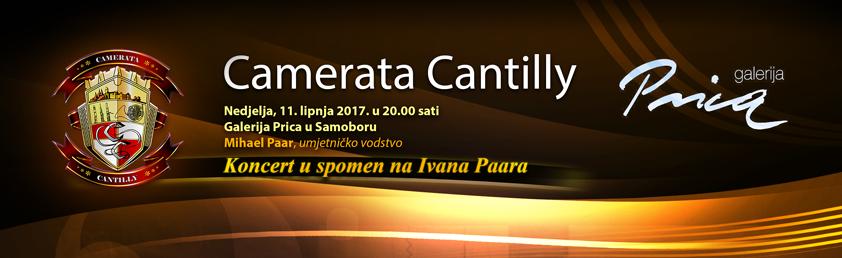 Najava koncerta u Samoboru u spomen na Ivana Paara